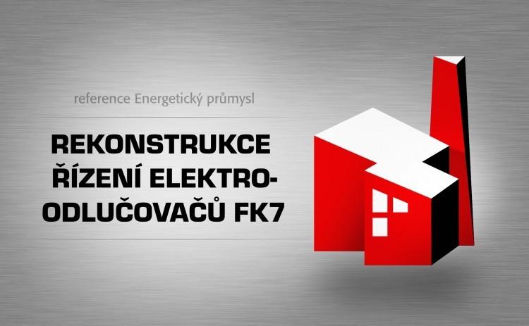 Rekonstrukce řízení elektroodlučovačů FK7