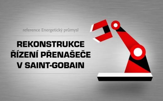 Rekonstrukce řízení přenašeče v Saint-Gobain