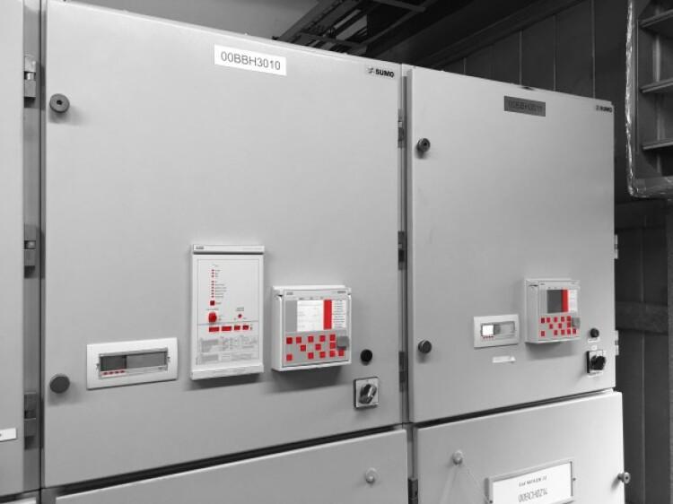 Výměna ochran Spacom v rozvodnách 6kV v Elektrárně Chvaletice